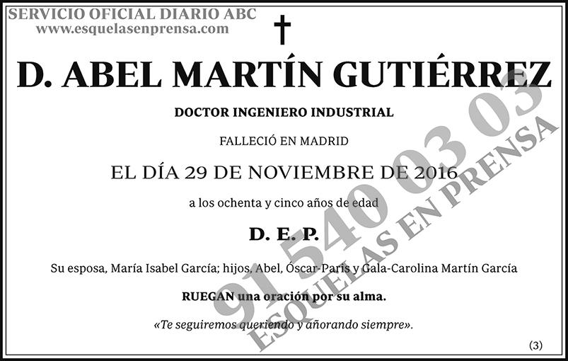 Abel Martín Gutiérrez